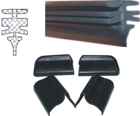 caoutchouc pour balai d essuie glace portech universelles. Black Bedroom Furniture Sets. Home Design Ideas